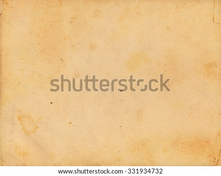 Brown vintage paper background. Retro paper - stock photo