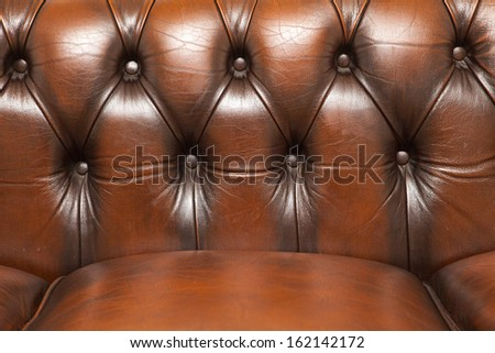 Brown Vintage Sofa Leather Background