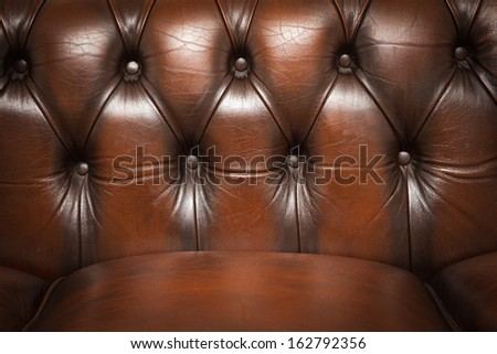 Brown Vintage Sofa Leather Texture Background