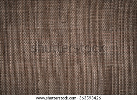 Brown wicker as a background - stock photo