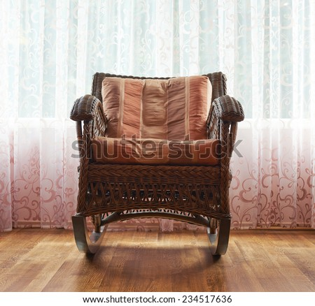 Old Fashioned Rocking Chair Stock Images Royalty Free