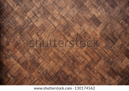 Brown wicker texture used as a background