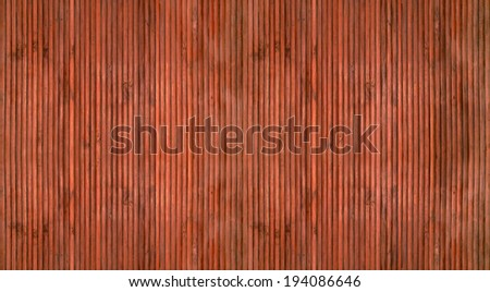 Brown wood texture with natural bamboo patterns
