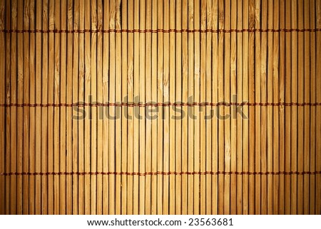 Brown wooden fence background with spotlight in the center and dark edges