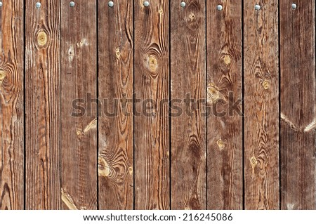Brown Wooden Planks background for your design. - stock photo