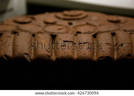 Brownie Cake in Muffin Shape