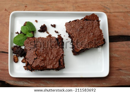 brownies   - stock photo