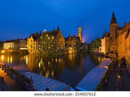Bruges, Belgium  - stock photo