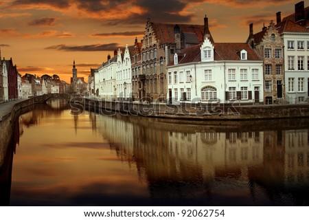 Bruges, Belgium - stock photo