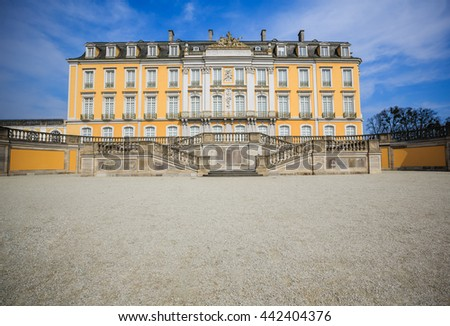 Bruhl Castle - Bruhl, Germany