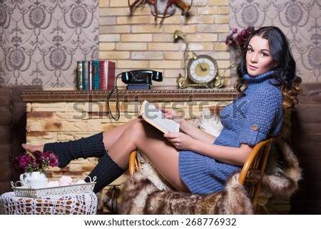 Sweater Dress Stock Images, Royalty-Free Images & Vectors ...