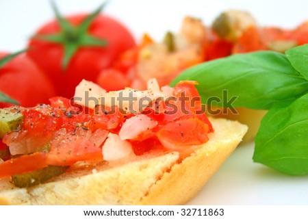 Bruschetta - stock photo