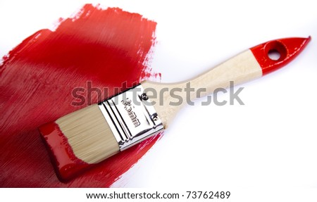 Brush, Decoration - stock photo