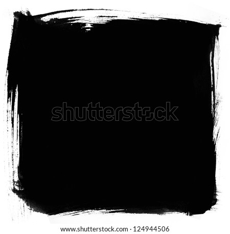 Brush stroke - stock photo