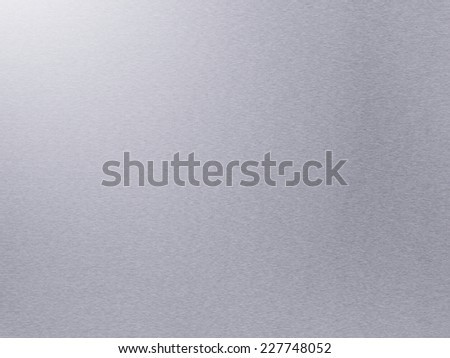 Brushed aluminum metal background or texture - stock photo