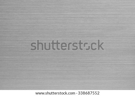 Brushed aluminum texture. Chrome metal texture of surface for wallpaper and background.  - stock photo
