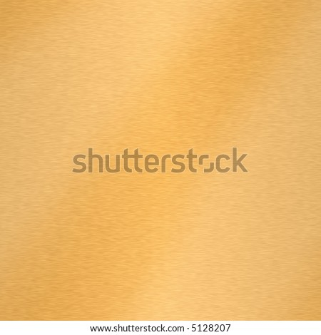 Brushed Gold. - stock photo