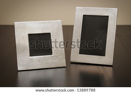 Brushed Metal Frames Stock Photo (Royalty Free) 13889788 - Shutterstock