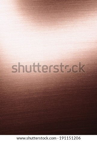 brushed metal plate background - stock photo