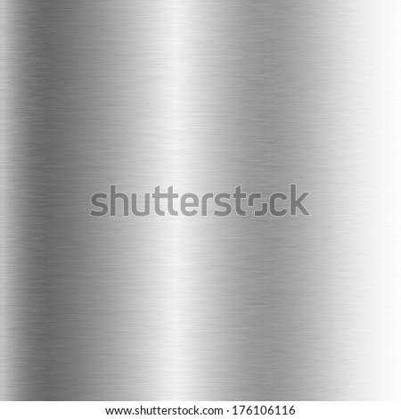 brushed metal structure closeup - stock photo