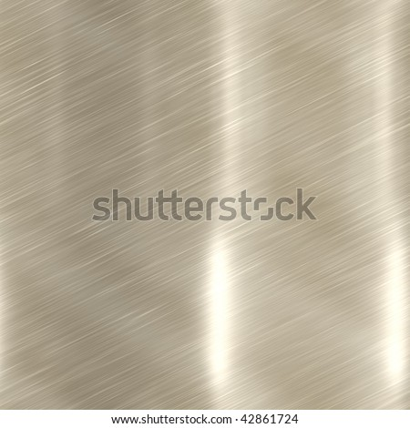 Brushed metal surface texture seamless background illustration - stock photo
