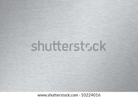 Brushed metal texture - stock photo