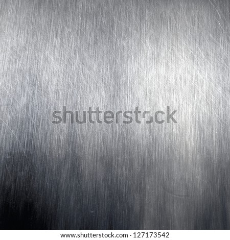 brushed metal texture  abstract industrial background - stock photo