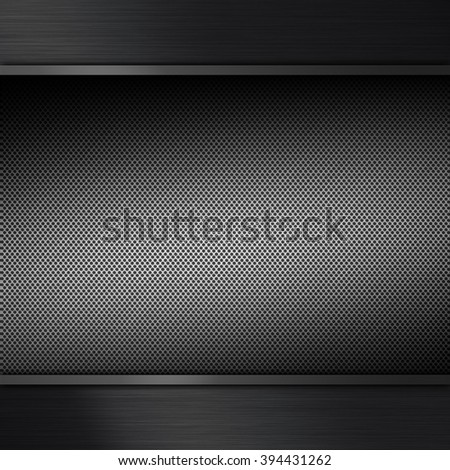 Brushed metal texture background, abstract industrial element