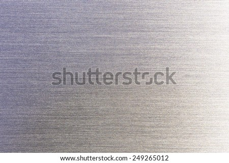 brushed steel - stock photo