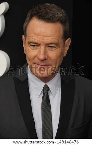 "Bryan Cranston at the ""Breaking Bad"" Special Premiere Event, Sony Studios, Culver City, CA 07-24-13 - stock photo"