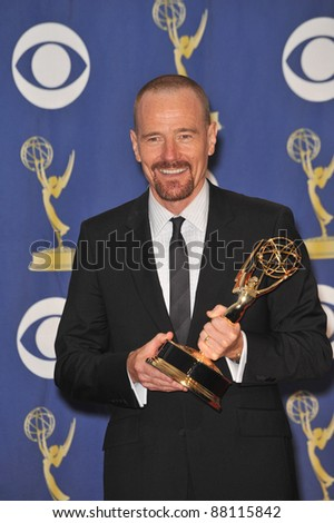 Bryan Cranston at the 61st Primetime Emmy Awards at the Nokia Theatre L.A. Live. September 20, 2009  Los Angeles, CA Picture: Paul Smith / Featureflash