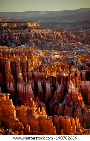 Bryce Canyon National Park - Utah, USA - stock photo