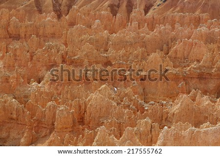 Bryce canyone - stock photo