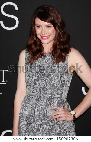 "Bryce Dallas Howard at the ""Jobs"" Screening, Regal Cinemas, Los Angeles, CA 08-13-13"