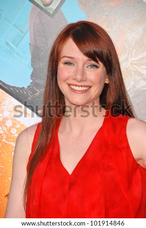 "Bryce Dallas Howard at the Los Angeles Premiere of ""The Losers,"" Chinese Theater, Hollywood, CA. 04-20-10"