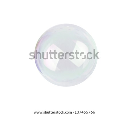 bubble blower isolated on white background - stock photo
