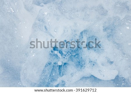 Bubble caused by washing as background. - stock photo