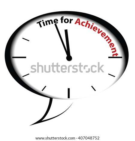 Bubble clock - Time for Achievement