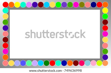 colorful page borders. bubble colorful page border Bubble Colorful Page Border Stock Illustration 749636998  Shutterstock
