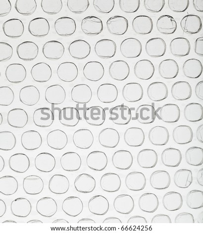bubble packing - stock photo