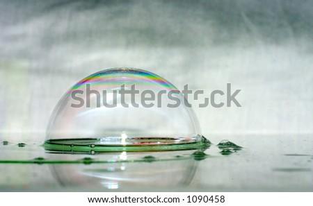 bubble pomp - stock photo