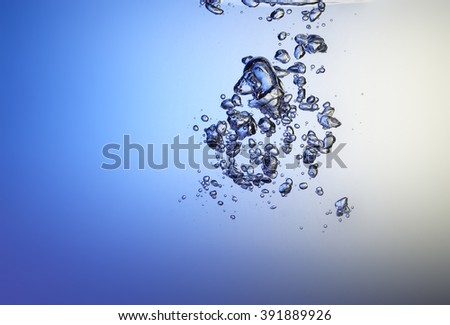 Bubble underwater