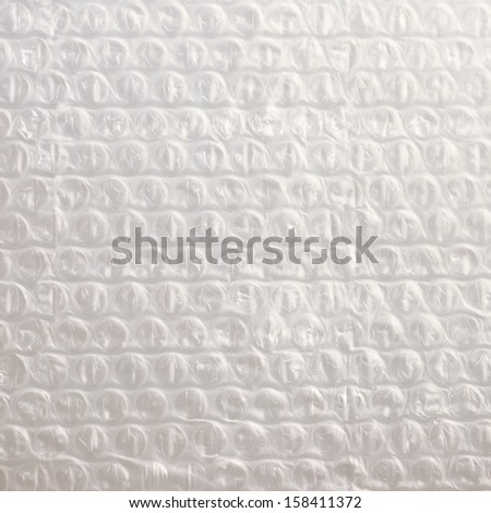 bubble wrap - stock photo