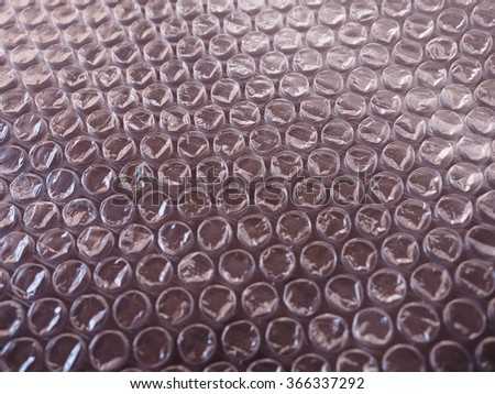 Bubble wrap sheet useful as a background - stock photo