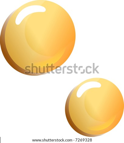 bubbles isolated on white