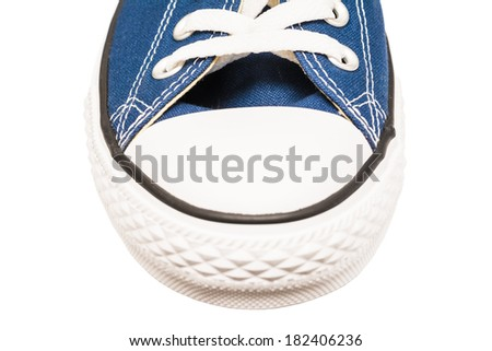 BUCHAREST, ROMANIA - MARCH 18, 2014: All Star Converse Sneakers Isolated On White. Founded in 1908 is an American lifestyle company with a production output of shoes and lifestyle fashion.