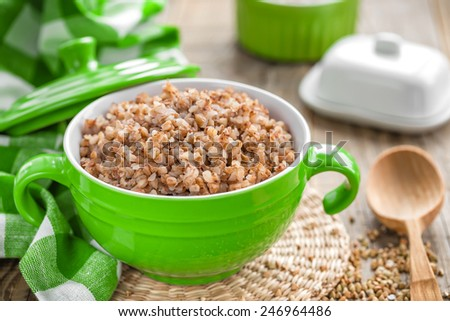 Buckwheat - stock photo