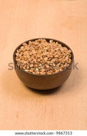 buckwheat - stock photo