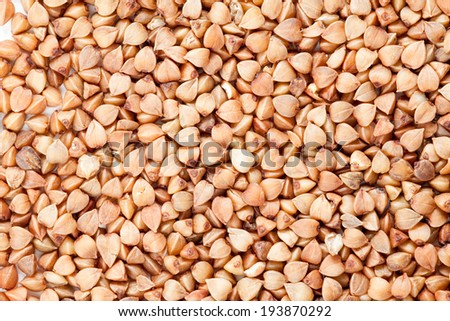 Buckwheat texture - stock photo