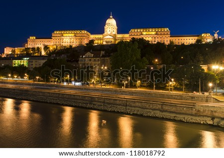 Budapest Castle, Hungary - stock photo